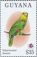 Guyana 1994 Birds of the World (PHILAKOREA '94) q