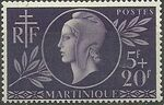 Martinique 1944 French Red Cross and National Relief a