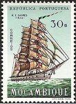 Mozambique 1963 Development of Sailing Ships t