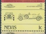 Nevis 1984 Leaders of the World - Auto 100 (1st Group)