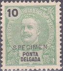 Ponta Delgada 1897 D. Carlos I SPc