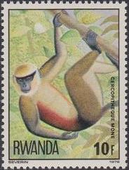Rwanda 1978 Apes e