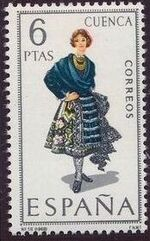Spain 1968 Regional Costumes Issue d