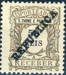 St Thomas and Prince 1913 Postage Due Stamps - 2nd Overprint e
