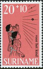 Surinam 1968 Child Welfare c