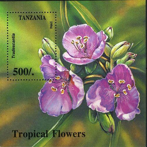 Tanzania 1995 Wild Flowers h