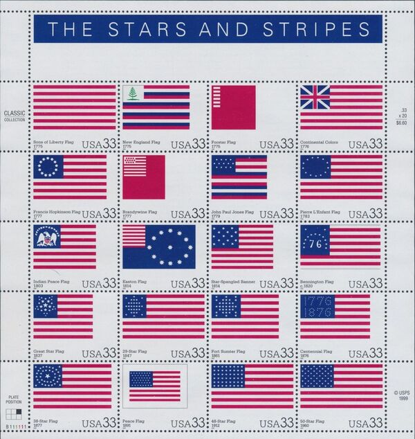United States of America 2000 The Stars and Stripes Sa