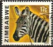 Zimbabwe 1980 Definitives j