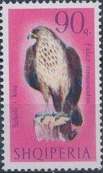 Albania 1966 Birds of Prey h
