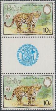 Belize 1983 WWF - Jaguar GPb