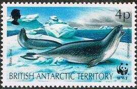 British Antarctic Territory 1992 WWF Seals and Penguins a