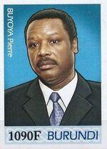 Burundi 2012 Presidents of Burundi - Pierre Buyoya i