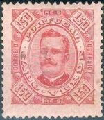 Cape Verde 1893-1895 Carlos I of Portugal k