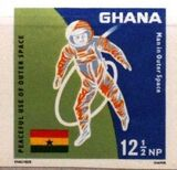 Ghana 1967 Achievements in Space f