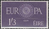 Ireland 1960 Europa b