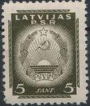 Latvia 1940 Arms of Soviet Latvia d