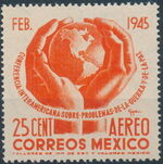 Mexico 1945 Inter-American Conference (Airmail) a