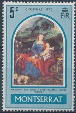 Montserrat 1970 Christmas a