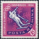 Romania 1963 9th Winter Olympic Games in Innsbruck f