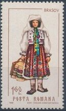 Romania 1968 Folk Costumes e