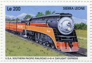 Sierra Leone 1995 Railways of the World aa