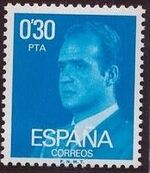 Spain 1977 King Juan Carlos I - 3rd Group b