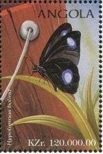 Angola 1998 Butterflies (2nd Group) f