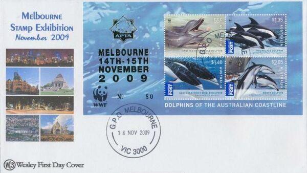 Australia 2009 WWF - Dolphins of the Australian Coastline FDCi