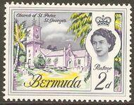 Bermuda 1962 Definitive Issue b
