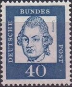Germany, Federal Republic 1961 Famous Germans i