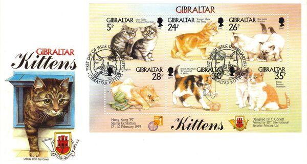 Gibraltar 1997 Kittens l