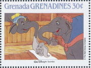 Grenada Grenadines 1988 The Disney Animal Stories in Postage Stamps 4b