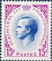 Monaco 1955 Prince Rainier III d