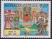 Monaco 1997 700th Anniversary of the Grimaldi Dynasty - 1st Serie h