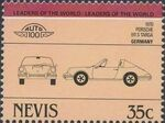 Nevis 1984 Leaders of the World - Auto 100 (1st Group) o
