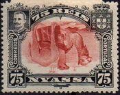 Nyassa Company 1901 D. Carlos I (Giraffe and Camels) u