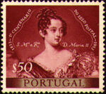 Portugal 1953 Centenary of Portugal's First Postage Stamp a