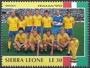 Sierra Leone 1990 Football World Cup in Italy p