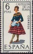 Spain 1967 Regional Costumes Issue l