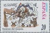 "Spain 1998 Scenes from ""Don Quixote"" h"