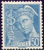 France 1942 Type Mercury (2nd Issue) a