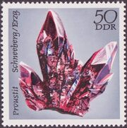 Germany DDR 1972 Minerals Found in East Germany f
