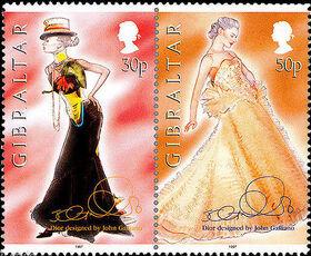 Gibraltar 1997 Dior Fashion Designs by John Galiano g