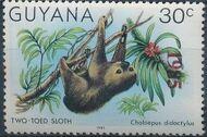 Guyana 1985 Wildlife (Overprinted 1985) d