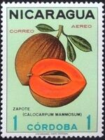 Nicaragua 1968 Fruits i