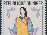 Niger 1963 Woman's Costumes