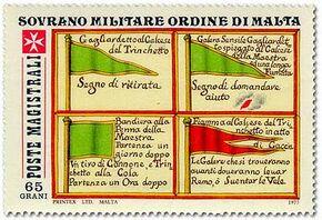 Sovereign Military Order of Malta 1977 Antiche Segnalazioni Delle Marinerie Dell'Ordine a