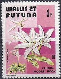 Wallis and Futuna 1982 Flowers a