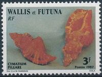 Wallis and Futuna 1987 Sea Shells a