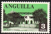 Anguilla 1969 Independence c